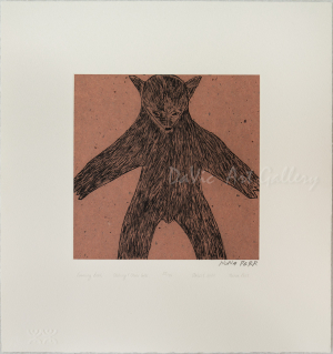 'Looming Bear' by Nuna Parr