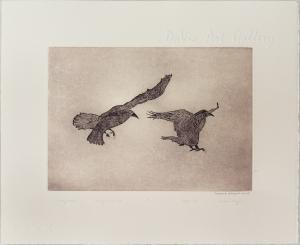 'Misty Ravens' by Olooreak Etungat