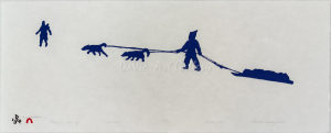 'Midnight Crossing' by Padloo Samayualie