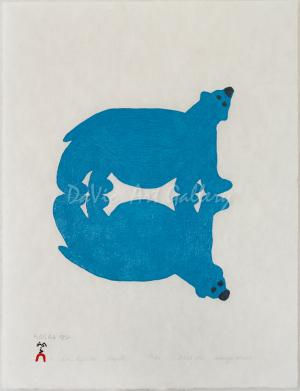 'Bear's Reflection' by Saimaiyu Akesuk