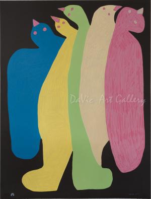 'Spirit Guides' by Saimaiyu Akesuk