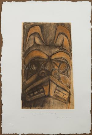 'Haida Beaver Pole' by Bill Reid
