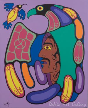'Circle of Strength' by Jim Oskineegish
