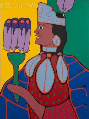 'Traditional Dancer' by Jim Oskineegish