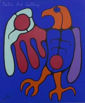 'Brings Life to All' by Jim Oskineegish