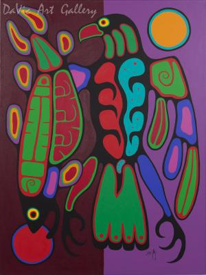 'Balance of Light' by Jim Oskineegish
