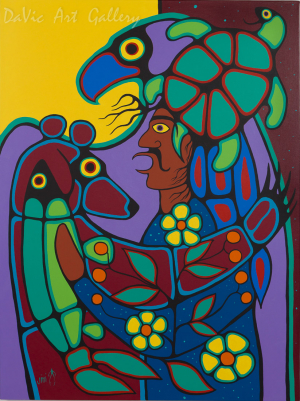 'Medicine Man' by Jim Oskineegish