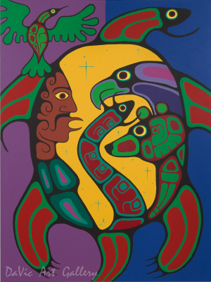 'The Meeting' by Jim Oskineegish