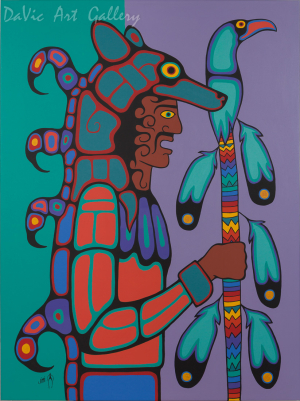 'Wolf Dancer' by Jim Oskineegish
