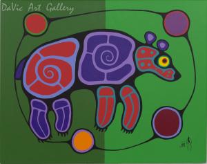 'Bear' by Jim Oskineegish